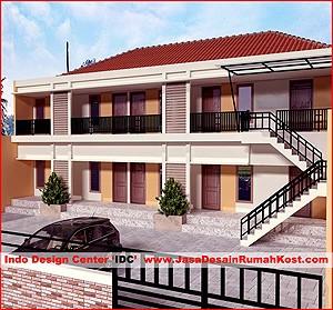 ... Desain Rumah Kost di Bekasi Bantar Gebang Cover ... & Desain Rumah Kost - Jasa Desain Rumah Jasa Gambar Rumah Jasa ...