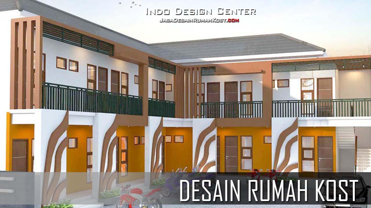 Desain Rumah Kost 2 Lantai Sederhana