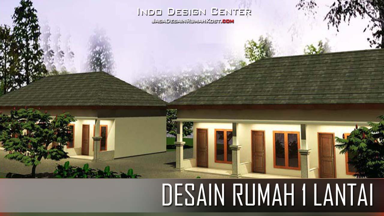 Denah Rumah Kost 1 Lantai    Jasa Desain Rumah Kost